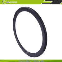 New design and super light carbon 50mm tubular rims for road bike with 3k/ud matte or glossy finish