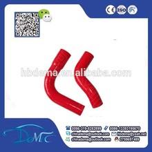 Caliente venta de silicona tubo/suave de silicona tubo de goma/extruido de caucho de silicona tubo