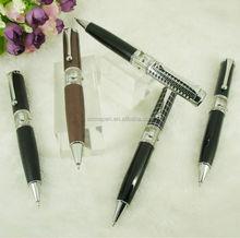 Original Design Unique Ballpoint Pen with Watch 54 gram Metal Heavy Pens Japan Movement Shell Dial Case for Watch Accessories