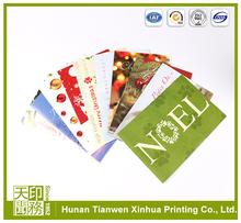 2015 full color paper business card printing, greeting card printing