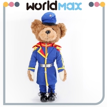 Custom plush toy Teddy bear with uniform