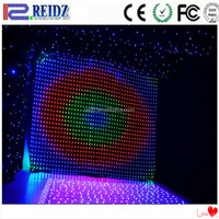 Several pixel pitch optional programmable led christmas lights,fabric led curtain light for christmas holiday