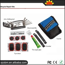 2015 New 16 in 1 Multifunction Portable Bicycle Repair Tool Kits