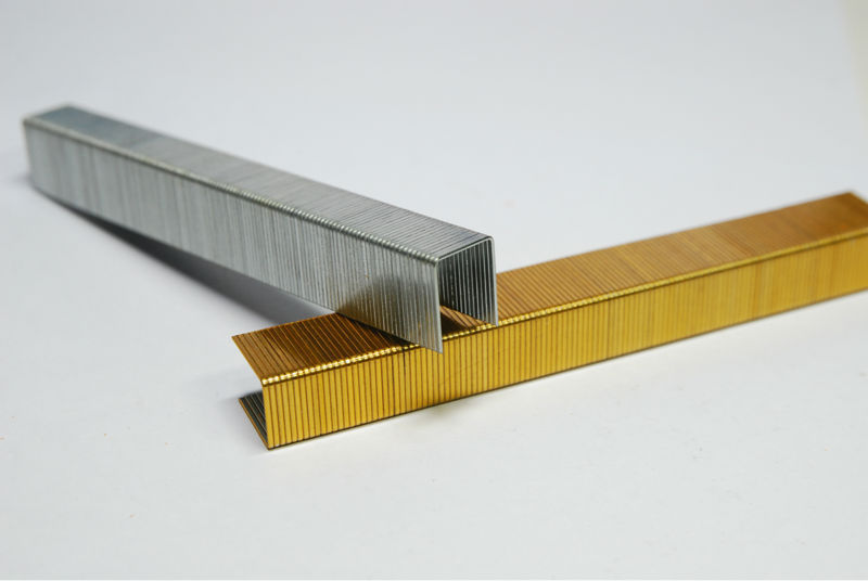 Sxhl sgs manufacturer 80 series industrial staple fence for Wood floor nails or staples