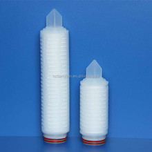 Absolute filter Nylon membrane pleated filter cartridge for mineral water filtration/purity water process