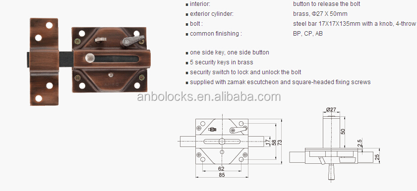 Doors Opening Outwards Outward Opening Door Rim Lock