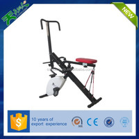 new horse riding exercise body crunch machine with ropes/bike