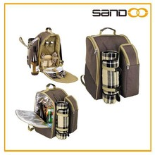 New products picnic bag 2 person thermos picnic backpack