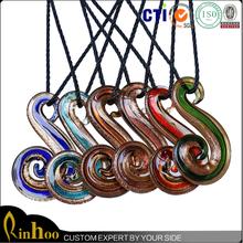 Cheap wholesale hot selling fashion pendent, lampwork glass pendant