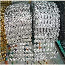 CRYSTAL DIAMOND MESH WRAP ROLL RIBBON/ WEDDING DECOR