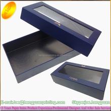 Plastic PVC window Packaging Box Insert CH329