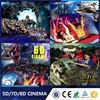 Guangzhou Lechuang Professional 6/8/9/12 Seats 5D Cinema Amusement Ride 3D Movie 5D