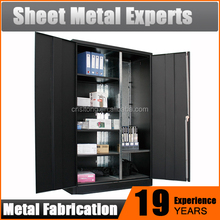popular office furniture documents storage cabinet knock down design factory two door steel file cupboards price