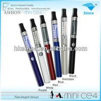 2013 new e smart kit,hot clearomizer e-smart,mini ce4 ecigarette e-smart