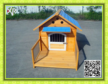 Wooden dog kennels for large dogs XD 014