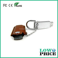 New product leather label usb flash drive 3.0 /name printed pen drive 8.0gb with free logo