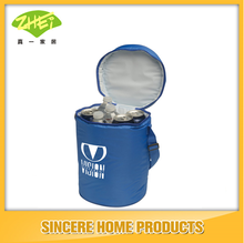 PVC Round wine bottle cooler bag