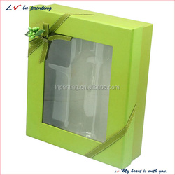 high quality see through gift boxes with OEM logo