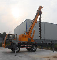 10 tons Truck Crane STSQ10B with Torque Limited Device and Lifting Capacity Indicator