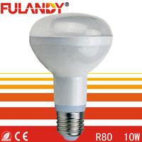 Good heat dissipation led bulb lamp r63 e27 R63 R80 R90 led bulb light bulbs e27 10w 230v