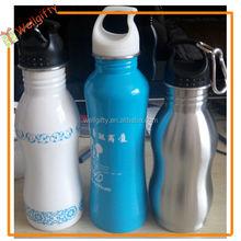 climbing bottle with carabiner 500ml aluminum bottle outdoor sports water bottle