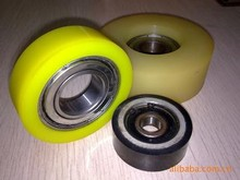 caster and coated wheel