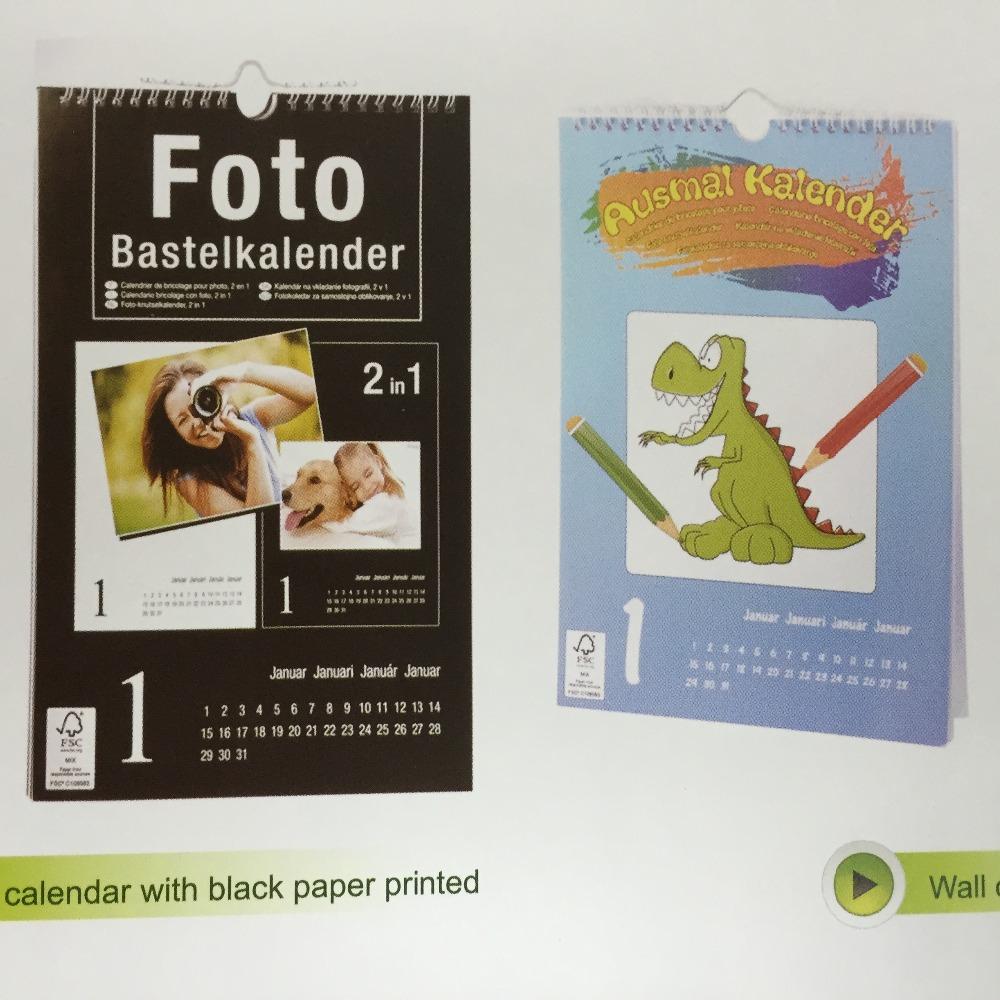 2016 책상 달력 디자인, 달력 디자인 계획, 테이블 달력 인쇄-달력 ...