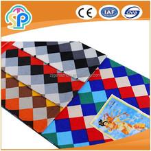 Flannel lattice fabric