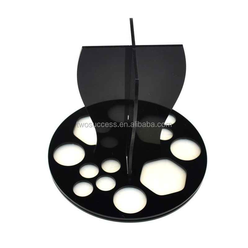 Black Foldable Acrylic