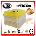 2014 mais novo aprovado pela CE controle climático automático completo transparentes ovos de codorna 264 VA-96 incubadora de ovo