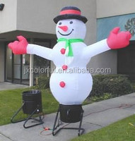CILE 2015 Inflatable Christmas Decorative Funny Big Snowman Model