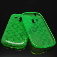 i8910 TPU Case for Samsung Galaxy S3 Mini Gel Cover Case,Smoke TPU Case Design,Circle