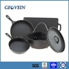 Vegetable oil preseasoned hot sale cast iron camping set