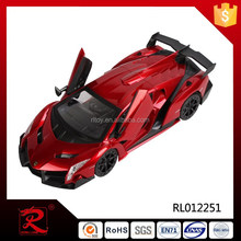 2015 New design 1:12 toy world rc car with steering wheel made in china
