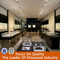 Supply jewelry store showroom furniture showcase for case display