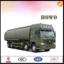 26250l 8*4 howo camión cisterna de combustible de camiones de transporte