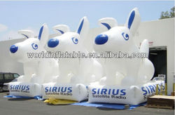 inflatable dog,inflatable puppy model