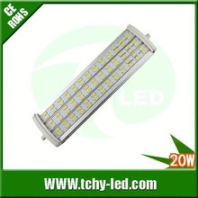 Main product 20w samsung 5630 90lm/w bombilla para foco halogeno led tipo r7s for Showroom/France