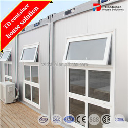 Mobile meeting room container