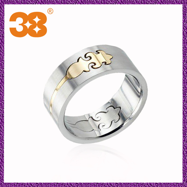 cheap stainless steel mens adjustable wedding bands ring With mens adjustable wedding ring