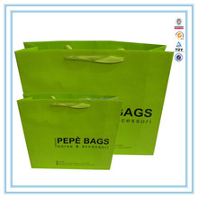 Alibaba Chian Factory machine made paper bag Wholesale shopping bags& printing shopping paper bag