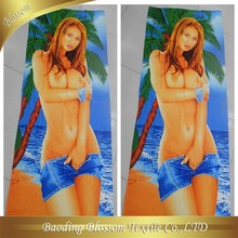 china supplier girl photo sex products microfiber beach towel printed