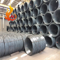 china manufacturer high carbon hot rolled steel wire rod hs code in coils in tangshan
