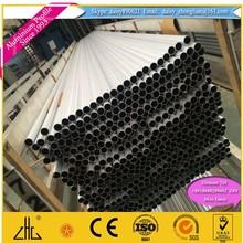 Great ! 6063 round aluminium anodizing tube+CNC machining for table legs , high quality aluminum anodized tube