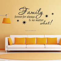 Home Wall Decal Alphabet Letter Removable Cheap Custom Stickers