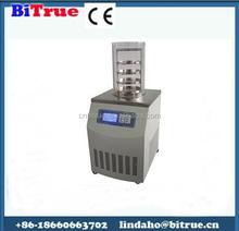 Laboratory vacuum freeze dryer dehydrator for food