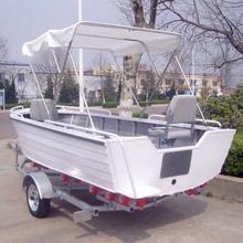 CE certificado 15 pies nuevo aluminio Barco de Bass