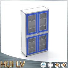 Wooden metal office filing shoe cabinet