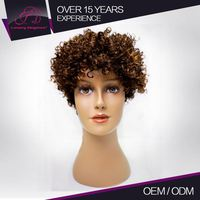 Factory Price Real Virgin Brazilian Short Afro Wigs