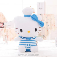 japan hello kitty plush cat toy